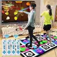 2015体感双人中文高清电视电脑两用加厚手舞足蹈跳舞毯家居休闲运动游戏休闲时尚跳舞毯