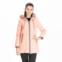 波司登(BOSIDENG)冬季羽绒服女韩版甜美修身中长款时尚保暖外套保暖B1301096