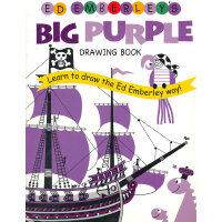 Ed Emberley's Big Purple Drawing Book ISBN 9780316789738