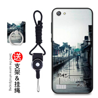 oppo a33手机壳 OPPOA33保护套 a33m a33t 女款挂绳手机套硅胶防摔指环支架卡通软套