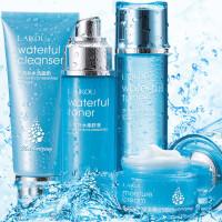 莱蔻新多效补水4件套 面部护理套装补水保湿护肤清洁柔肤化妆品