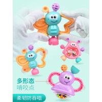【支持礼品卡】婴儿玩具0-3-6-12个月益智女孩5手摇铃新生幼儿8男宝宝玩具0-1岁u6t