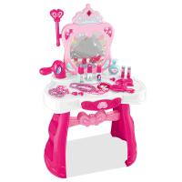 女童仿真儿童化妆品公主彩妆盒套装女孩玩具儿童梳妆台过家家玩具