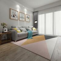 ins北欧沙发地毯客厅茶几简约现代卧室满铺可爱床边毯家用可定制j