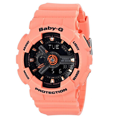 【网易考拉】【亚版】CASIO 卡西欧 Baby-G系列 女士运动风格腕表 BA-111-3A /BA-111-4A2(请注意:收货人姓名号码必须真实且对应,否则订单会被取消)