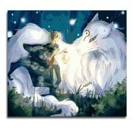 数字油画DIY油画 客厅卧室动漫卡通儿童大幅手绘装饰画 哆啦A梦 G398斑 60*75绷好内框2.5cm厚