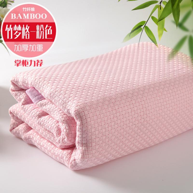 竹纤维毛巾被单人双人空调毯婴儿童盖毯午睡毯夏凉被毛巾毯薄被子