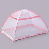 婴儿蚊帐罩可折叠儿童宝宝夏季蒙古包蚊帐加密无底便携新生儿通用