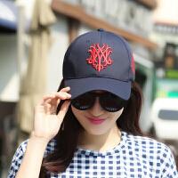 时尚女士棒球帽休闲运动百搭太阳帽韩版鸭舌帽青年户外防晒遮阳帽