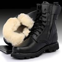 自由骑士户外特种兵男秋冬季陆战军靴 作战靴高帮战术靴 沙漠靴女