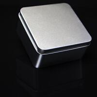 长方形马口铁盒小收纳盒礼品包装盒创意定制彩色LOGO喜糖盒 磨砂铁盒