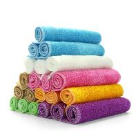 【3-10条装】竹纤维抹布洗碗巾 去油不沾油毛巾抹布