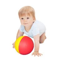 婴儿手抓球学爬行感知软球3-6-12个月宝宝益智球类玩具无需充气