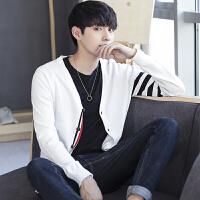 点就 韩版运动生活毛衣青春活力秋季长袖休闲V领开衫百搭气质潮针织衫DJ239