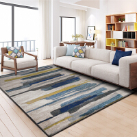 长方形地毯客厅欧式茶几毯简约现代家用北欧蓝色美式卧室床边满铺