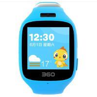360儿童手表智能拍照版 故事儿歌 防丢防水GPS定位 360儿童卫士 儿童手表5C W602彩屏电话手表 静谧蓝