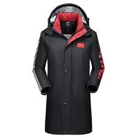 20180418023416421新款男女式运动棉大衣中长款羽绒国家队运动员冬训外套军大衣