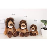 狮子公仔儿童毛绒玩偶狮子生日礼物甜馨儿童玩具