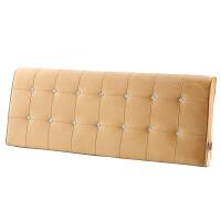 床头靠垫 无床头软包榻榻米靠枕可拆洗 双人床上大靠背床头罩