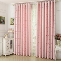 窗帘成品公主风遮光帘卧室客厅遮阳布飘窗窗帘