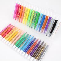 智高炫彩棒12色24色36色水溶性油画棒宝宝画画笔儿童无毒旋转蜡笔