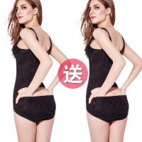无痕连体塑身夏季衣服收腹束腰燃脂塑形超薄款美体产后减肚子