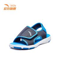 【开门红价:129元】安踏(ANTA)男童鞋中大童沙滩鞋舒适防滑凉鞋31824692