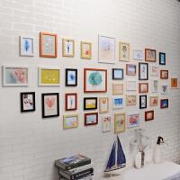 相框挂墙七寸 5 7 10寸摆台照片墙架子创意组合连体挂简约画框像 其他适合1.5--5米墙面尺寸