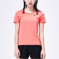 NIKE耐克女装2018新款PRO 速干跑步健身运动训练短袖T恤889541