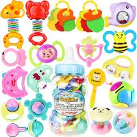 1qe婴儿玩具新生手摇铃牙胶0-1岁宝宝儿童益智幼儿男孩3女孩12个月6