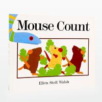 【11.11狂欢钜惠】#美国进口 美国图书馆协会*图书 Mouse Count 老鼠数数【平装】吴敏兰书单第3章 第49本