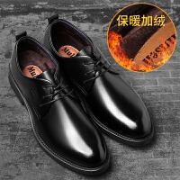 木林森男鞋秋冬季男士休闲皮鞋商务皮鞋男百搭真皮正装皮鞋子男潮