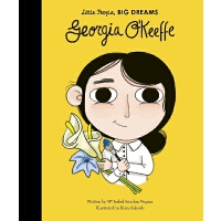 小女孩,大梦想:乔治亚・欧姬芙 Georgia O'Keeffe 英文原版 精装绘本 名人传记 Little Peopl