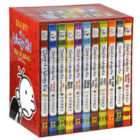 【英文原版】 Diary of a Wimpy Kid Box of Books 小屁孩日记1-11合集全套 小屁孩儿童读物