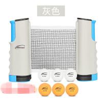 便携式乒乓球台网架自由伸缩乒乓球网乒乓桌架兵乓球网送包装袋