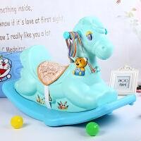 摇摇马木马塑料室内儿童玩具男女音乐摇马摇椅宝宝1-2-3周岁礼物j5v