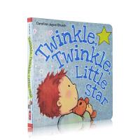 Twinkle, Twinkle,Little Star 一闪一闪亮晶晶 满天都是小星星 英文原版 经典童谣韵文改编