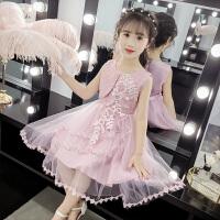 女童夏季连衣裙小女孩公主裙8岁儿童裙子时髦