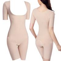 2018新款透气舒适减肚子短袖无痕连体塑身衣束身衣衣塑身内衣紧身衣女