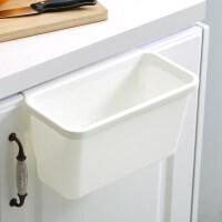 厨房分类垃圾桶橱柜门可挂式家用小号桌面干湿分离厨余悬挂壁拉圾