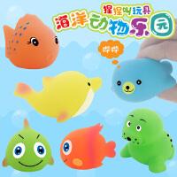 婴侍卫 洗浴帽&太阳帽+海洋动物乐园+宝宝戏水花园 组合套装