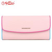 金利来goldlion女士票夹礼盒GA01605029-324粉红色