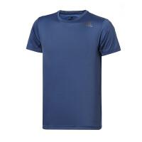adidas阿迪达斯男子短袖T恤2018新款训练跑步透气运动服CD9767