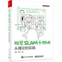 视觉SLAM十四讲从理论到实践 SLAM入门教程书 SLAM基础教程 slam编程教程算法 视觉机器学习 计算机人工智