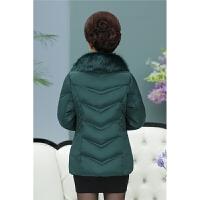 羽绒服 新品女中老年女装冬装新款中老年女装棉衣棉袄短款40-50岁妈妈装加厚羽绒外套