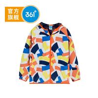 【折后�B券�A估�r:41.4】361度童�b男童梭�薄外套18秋季新款�和��\�由弦轮写笸��L衣K51833605
