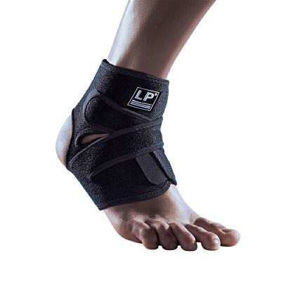 LP欧比护踝高透气分段可调式踝束套757CA 跑步骑行运动脚腕护具单只 透气面料 可调式