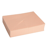 粉扑化妆海绵三角形斜形扑干湿两用不吃粉化妆棉美妆工具散粉粉扑 F002
