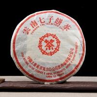 2003年 中茶 小红印7572茶叶 普洱茶熟茶 357克/饼 7饼