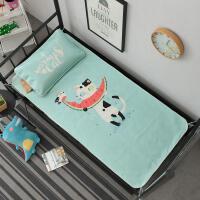 家纺学生宿舍冰丝凉席套件 和0.9m米床配一个枕套W
